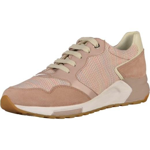 32f50e8dac4f0 Buty sportowe damskie Geox sneakersy młodzieżowe różowe w Domodi