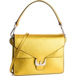 630c132e1c670 Listonoszka Coccinelle elegancka żółta średnia bez dodatków lakierowana