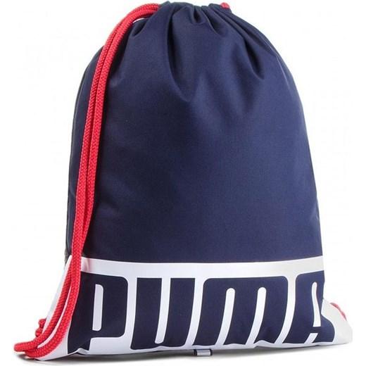 bd21c33d44634 Worek na odzież i obuwie Deck Gym Sack Puma (granatowy) Puma promocyjna  cena SPORT