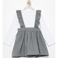 13e29af4e2 Szare sukienki niemowlęce dziewczynka