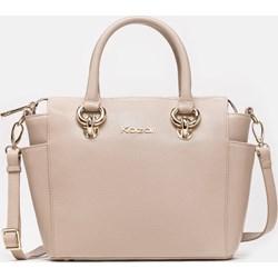 0dbebe9de4364 Shopper bag Kazar bez dodatków średniej wielkości na ramię skórzana