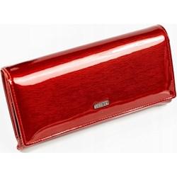 a5b8246df8828 Portfel damski czerwony Lorenti glamour