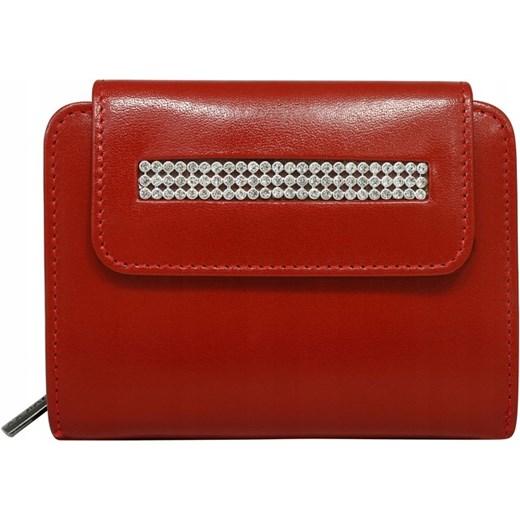 ede67f81a2218 Czerwony portfel damski Rovicky w Domodi