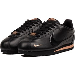 6767d11e4652 Buty sportowe damskie brązowe Nike do fitnessu cortez na koturnie bez wzorów