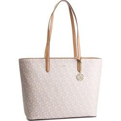 9afee14b8a430 Shopper bag Dkny bez dodatków na ramię z nadrukiem ...