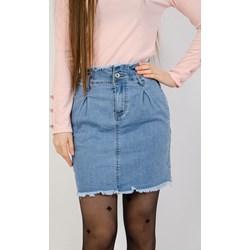 80b11613 Niebieska spódnica Olika mini