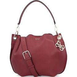 deac6500f9289 Shopper bag Guess casual na ramię mieszcząca a4 matowa