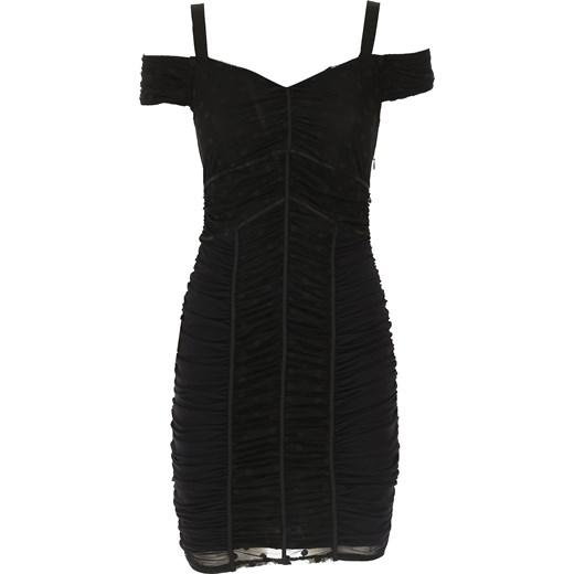 150cf474f5 Guess sukienka elegancka na spotkanie biznesowe bez wzorów balowe w ...