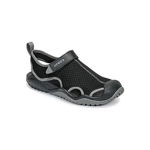 65c841a4e94b0 Sandały męskie Crocs czarne letnie sportowe z gumy w Domodi
