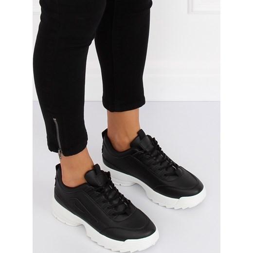 Buty sportowe damskie Ecco sneakersy sznurowane bez wzorów