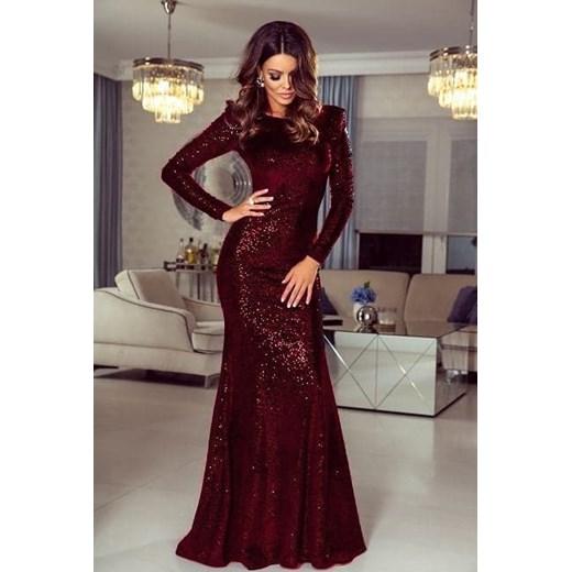 Sukienka Emo Sukienki karnawałowa elegancka z długimi rękawami balowe