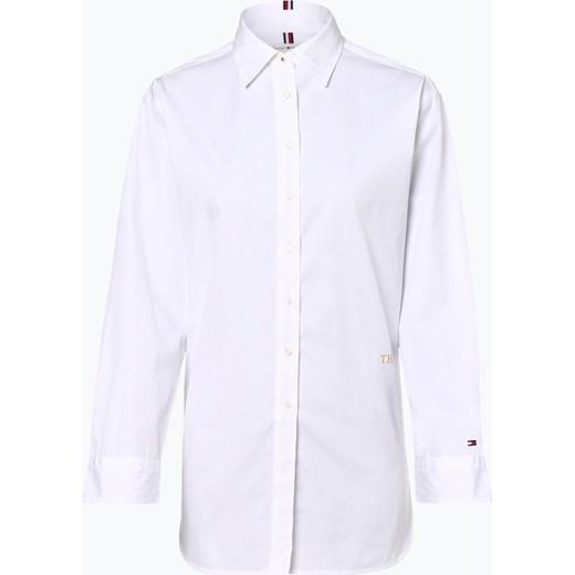 794399f36d166 Koszula damska biała Tommy Hilfiger z długim rękawem klasyczna w Domodi