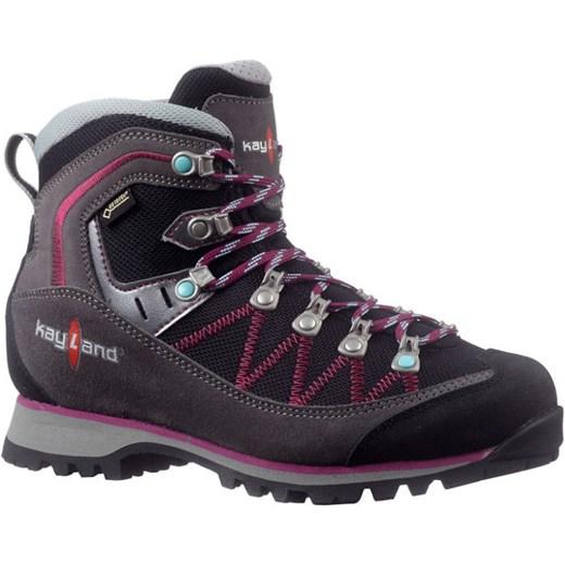 Buty trekkingowe damskie Kayland gore tex sznurowane brązowe