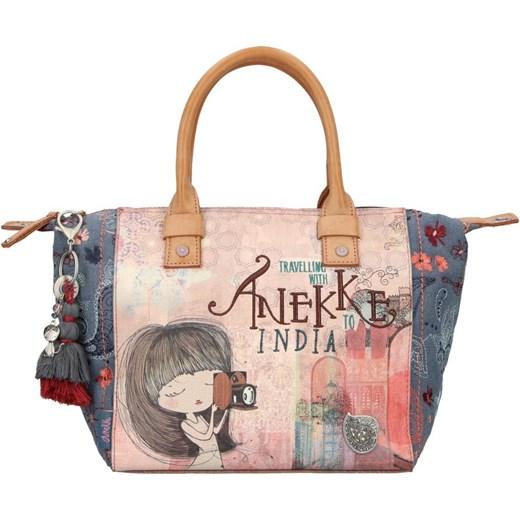 4809eb17f218c Shopper bag Anekke bez dodatków z nadrukiem młodzieżowa do ręki w Domodi