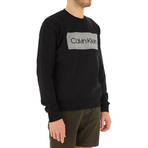 30d4a0a9dba3b ... Czarna bluza męska Calvin Klein z bawełny ...