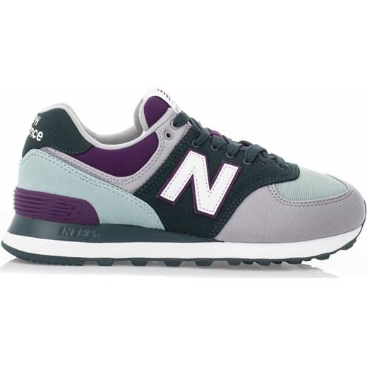 1ac7c374dbf322 ... sznurowane na · Buty sportowe damskie New Balance sneakersy w stylu  młodzieżowym new 575 na koturnie bez wzorów ...