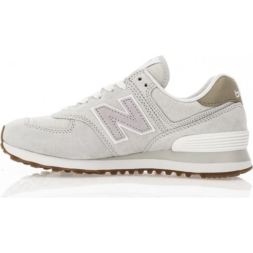46190b1e86d58b ... New Balance buty sportowe damskie casualowe w stylu młodzieżowym new  575 beżowe sznurowane bez wzorów ...