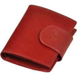 98166d3512c3e Portfel damski czerwony Wittchen bez wzorów