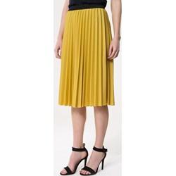 944b7466 Born2be spódnica żółta midi