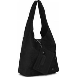 d0e254a382fab Shopper bag Vittoria Gotti skórzana matowa na ramię casual