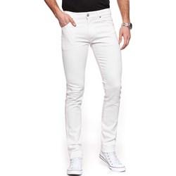 527252ab7b861 Białe jeansy męskie, lato 2019 w Domodi