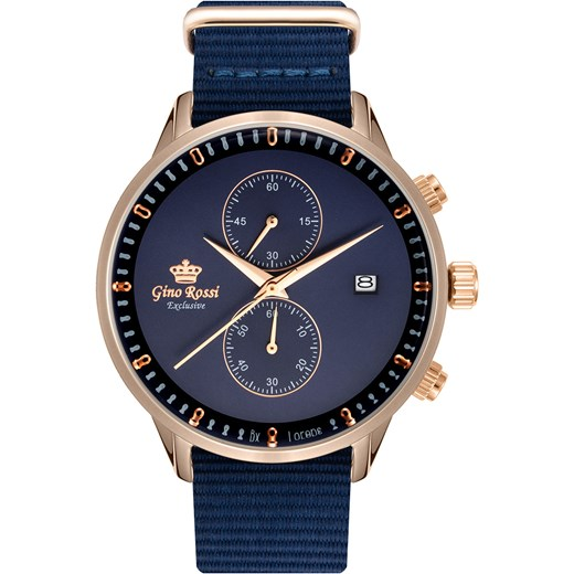 7306cf9959560 Zegarek niebieski Gino Rossi w Domodi