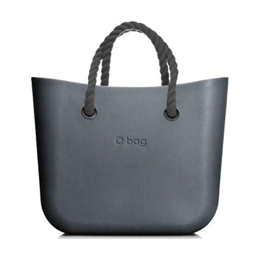 c9636d5dcd0369 Shopper bag niebieska O Bag do ręki wakacyjna średniej wielkości w ...
