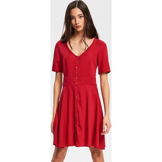 749ff638aa Sukienka Reserved z krótkim rękawem w Domodi
