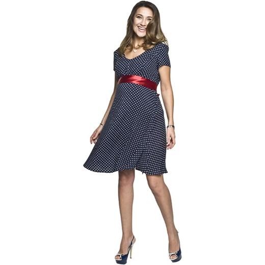 Sukienka ciążowa Torelle w grochy