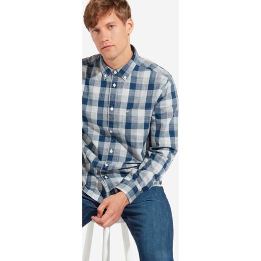 Stała usługa Koszula męska Wrangler z długim rękawem z  B1xMM