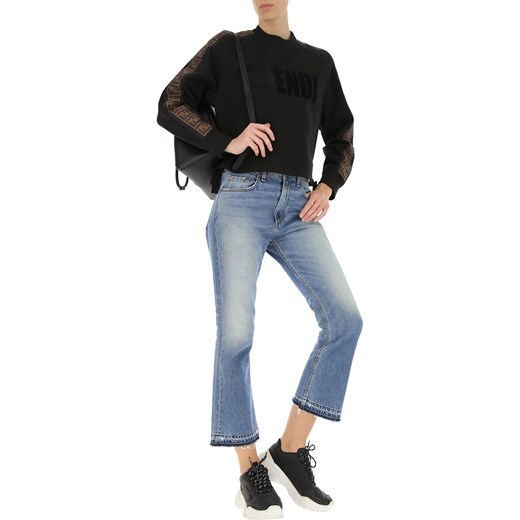d132c6bb4b0cc ... Fendi Bluza dla Kobiet, czarny, Bawełna, 2019, 38 40 M Fendi M