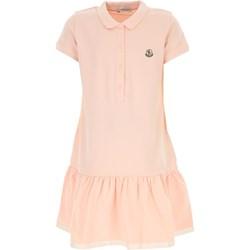 9114a7d9 Sukienka dziewczęca Moncler gładka