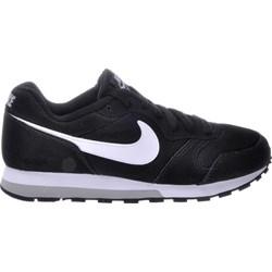d87745ff5 Buty sportowe damskie czarne Nike sneakersy md runner sznurowane bez wzorów
