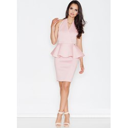 b82b833b65 Sukienka Figl bez rękawów różowa midi