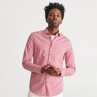 4434bf4c9650 Koszula męska Reserved casual różowa bez wzorów z długim rękawem