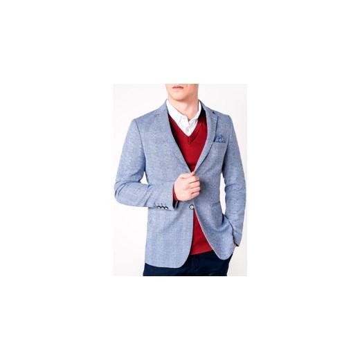 9290ca9e0dd8c ... MARYNARKA MĘSKA ELEGANCKA M92 - JASNOGRANATOWA Ombre Clothing XXL ombre  ...
