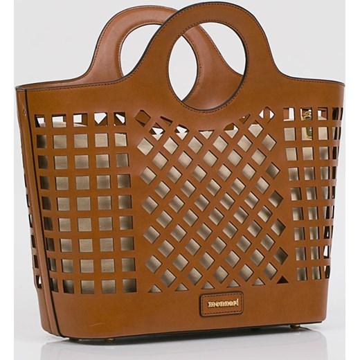 9b452e557433f Monnari torba letnia do ręki brązowa bez dodatków wakacyjna · Torba letnia  Monnari bez dodatków ...