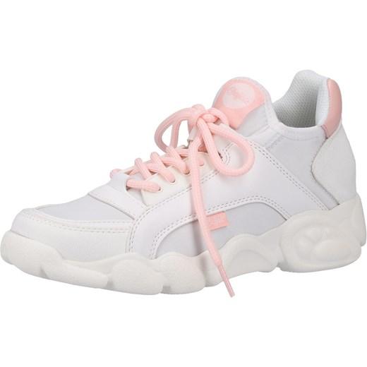d5e47cc2 Buffalo buty sportowe damskie sneakersy młodzieżowe gładkie sznurowane  skórzane ...