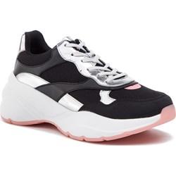 315709a292286 Sneakersy damskie Aldo gładkie czarne wiązane ...