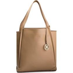 ae4575e9174f5 Shopper bag Kazar na ramię duża matowa