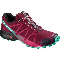 da2954b4 Salomon buty trekkingowe damskie sznurowane bez wzorów sportowe