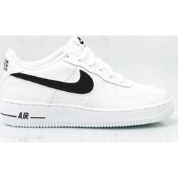 sports shoes a10d6 7bb45 Buty sportowe damskie Nike do biegania air force sznurowane płaskie