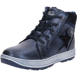 9ccd1fe6f034f Granatowe buty zimowe dziecięce, wiosna 2019 w Domodi