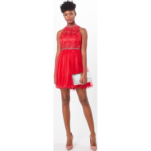 cf5544ba15 Sukienka czerwona Suddenly Princess na wiosnę midi w Domodi