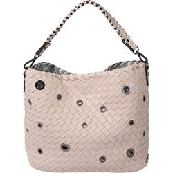 a11757caaea3d Shopper bag Emily & Noah skórzana na wakacje różowa bez dodatków ...