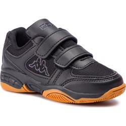 Buty sportowe dziecięce Kappa z tworzywa sztucznego na rzepy