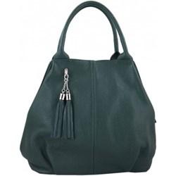 a68a54692686d Barberini`s shopper bag na wakacje duża do ręki matowa ze skóry