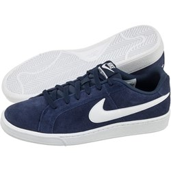 56ef0186 Trampki męskie Nike sportowe zamszowe sznurowane