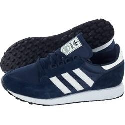 1e209c5c Buty sportowe męskie Adidas sznurowane wiosenne zamszowe