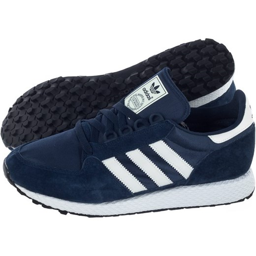 Buty sportowe męskie Adidas wiązane zamszowe Buty Męskie FR